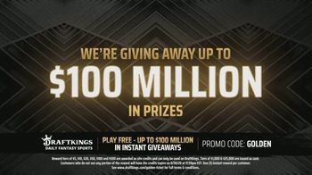DraftKings $100 Million Golden Ticket Giveaway TV Spot, 'Celebrating the Return of Sports' - Thumbnail 3