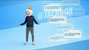 Jack in the Box Spicy Chicken Strips Combo TV Spot, 'So Many Tweets' - Thumbnail 6