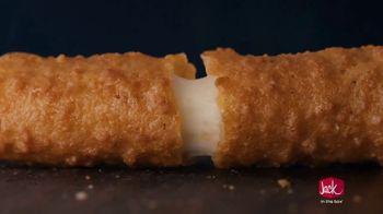 Jack in the Box Jack's Mini Munchies TV Spot, 'Mozzarella Sticks' Song by Eric Carmen - Thumbnail 2