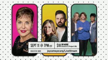 Joyce Meyer Ministries TV Spot, 'Love Life Girls' Night In With Joyce'