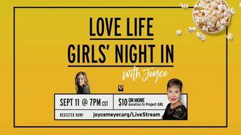Joyce Meyer Ministries TV Spot, 'Love Life Girls' Night In With Joyce' - Thumbnail 9