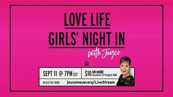 Joyce Meyer Ministries TV Spot, 'Love Life Girls' Night In With Joyce' - Thumbnail 3