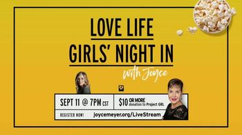 Joyce Meyer Ministries TV Spot, 'Love Life Girls' Night In With Joyce' - Thumbnail 8