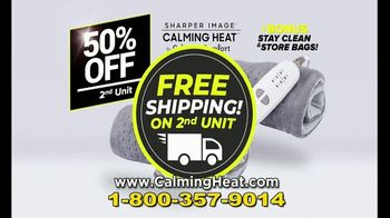 Calming Heat by Sharper Image TV Spot, 'Calming Weighted Heating Pad' - Thumbnail 9