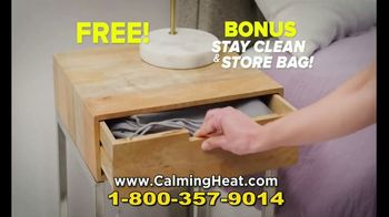 Calming Heat by Sharper Image TV Spot, 'Calming Weighted Heating Pad' - Thumbnail 8