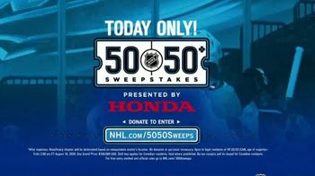 The National Hockey League 50-50+ Sweepstakes TV Spot, 'One Day Only' - Thumbnail 9