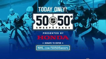 The National Hockey League 50-50+ Sweepstakes TV Spot, 'One Day Only' - Thumbnail 2