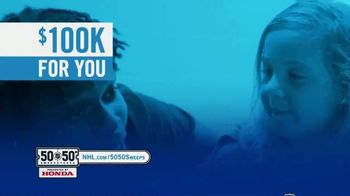 The National Hockey League 50-50+ Sweepstakes TV Spot, 'One Day Only' - Thumbnail 3