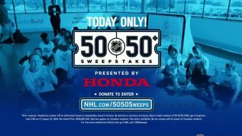 The National Hockey League 50-50+ Sweepstakes TV Spot, 'One Day Only' - Thumbnail 6