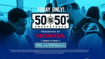 The National Hockey League 50-50+ Sweepstakes TV Spot, 'One Day Only' - Thumbnail 7