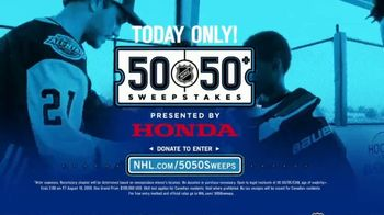 The National Hockey League 50-50+ Sweepstakes TV Spot, 'One Day Only' - Thumbnail 8
