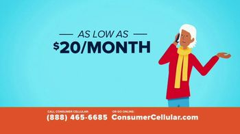 Consumer Cellular TV Spot, 'Better Value: A Little Fishing: First Month Free' - Thumbnail 3
