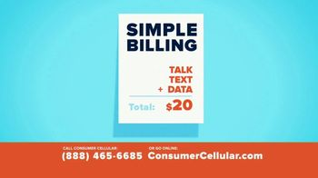Consumer Cellular TV Spot, 'Better Value: A Little Fishing: First Month Free' - Thumbnail 7