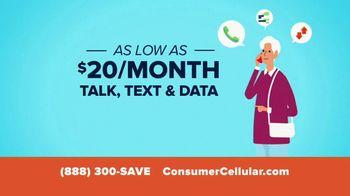 Consumer Cellular TV Spot, 'Better Value: Vanity' - Thumbnail 5