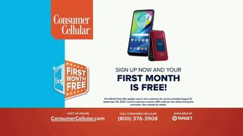 Consumer Cellular TV Spot, 'Plus: First Month Free' - Thumbnail 9