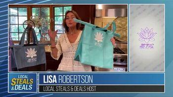 Local Steals & Deals TV Spot, 'Lotus Bags' Featuring Lisa Robertson - Thumbnail 2