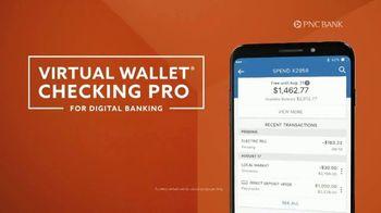 PNC Bank Virtual Wallet Checking Pro TV Spot, 'Pizza Tracking' - Thumbnail 5