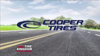 Tire Kingdom Big Brands Bonus Month TV Spot, 'Cooper Tires: Free Installation' - Thumbnail 5