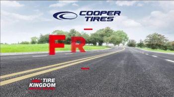 Tire Kingdom Big Brands Bonus Month TV Spot, 'Cooper Tires: Free Installation' - Thumbnail 6