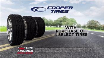 Tire Kingdom Big Brands Bonus Month TV Spot, 'Cooper Tires: Free Installation' - Thumbnail 8