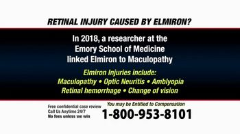 Pulaski Law Firm TV Spot, 'Retinal Injury Caused by Elmiron?'