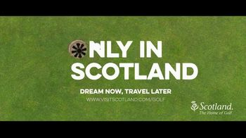 Visit Scotland TV Spot, 'Only in Scotland: The Home of Golf' - Thumbnail 9