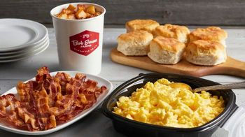 Bob Evans Restaurants Big Breakfast Family Meals To Go TV Spot, 'Feed a Family of Four'