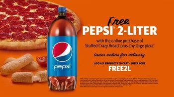 Little Caesars Stuffed Crazy Bread TV Spot, 'You're Not Dreaming: Free 2-Liter Pepsi' - Thumbnail 7