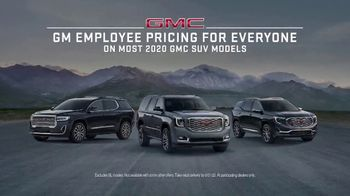 GMC Employee Pricing for Everyone TV Spot, 'Rule of Three' [T2] - Thumbnail 5