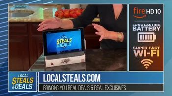 Local Steals & Deals TV Spot, \'Fire HD 10\' Featuring Lisa Robertson