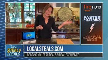 Local Steals & Deals TV Spot, 'Fire HD 10' Featuring Lisa Robertson - Thumbnail 4