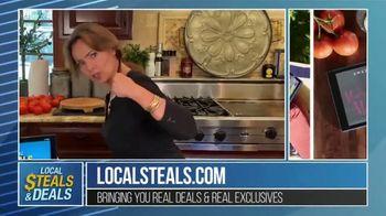 Local Steals & Deals TV Spot, 'Fire HD 10' Featuring Lisa Robertson - Thumbnail 5