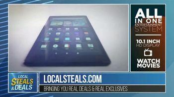 Local Steals & Deals TV Spot, 'Fire HD 10' Featuring Lisa Robertson - Thumbnail 6