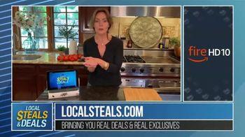 Local Steals & Deals TV Spot, 'Fire HD 10' Featuring Lisa Robertson - Thumbnail 9