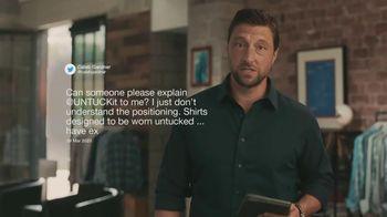 UNTUCKit TV Spot, 'UNTUCKit Responds to Caleb Gardner'