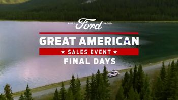 Ford Great American Sales Event TV Spot, 'Final Days' [T2] - Thumbnail 2