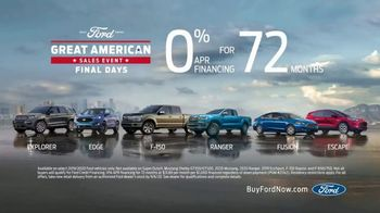 Ford Great American Sales Event TV Spot, 'Final Days' [T2] - Thumbnail 6