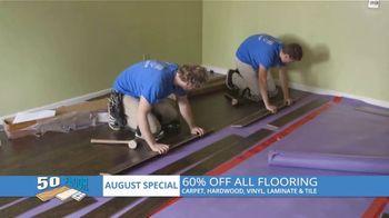50 Floor TV Spot, 'Atlanta: Showroom Comes to You: 60% Off'