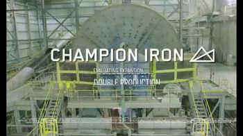 Champion Iron TV Spot, 'Structural Shift' - Thumbnail 10
