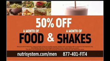 Nutrisystem 50/50 Deal TV Spot, 'Time to Get Healthy: 18 Pounds' - Thumbnail 7