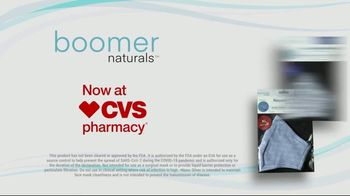 Boomer Naturals Multi-Use Protective Face Masks TV Spot, 'Not All Masks Offer the Same Protection' - Thumbnail 10