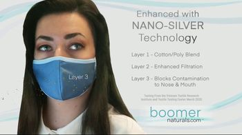 Boomer Naturals Multi-Use Protective Face Masks TV Spot, 'Not All Masks Offer the Same Protection' - Thumbnail 5