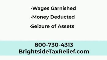 Brightside Tax Relief TV Spot, 'Don't Worry' - Thumbnail 3