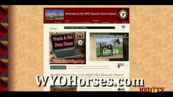 WYO Quarter Horse Sale TV Spot, 'What You're Looking For' - Thumbnail 5
