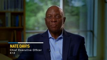K12 TV Spot, 'Education for Everyone: Nate Davis' Message'