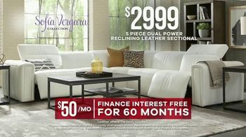 Rooms to Go Labor Day Sale TV Spot, 'Sofia Vergara Collection' - Thumbnail 8