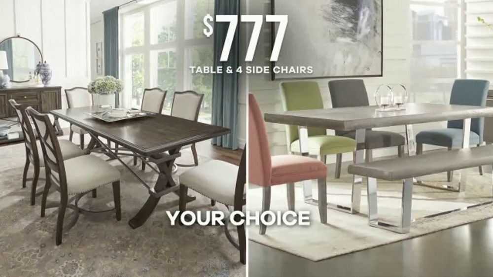 Rooms To Go Labor Day Sale Tv Commercial Dining Sets Ispot Tv