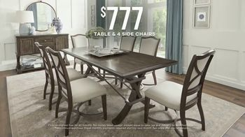 Rooms to Go Labor Day Sale TV Spot, 'Dining Sets' - Thumbnail 6