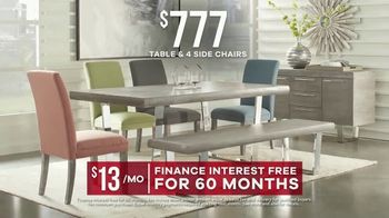 Rooms to Go Labor Day Sale TV Spot, 'Dining Sets' - Thumbnail 7