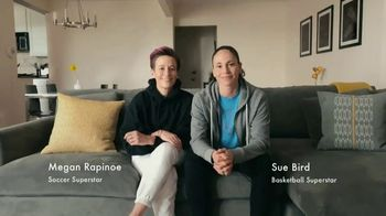 Symetra TV Spot, 'Sue and Megan At Home' Featuring Megan Rapinoe, Sue Bird - Thumbnail 1